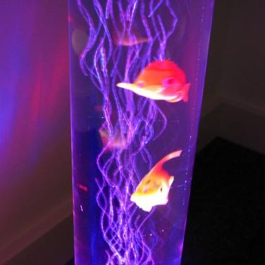 Led Sensory Bubble Fish Lamp