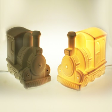 3D Ceramic Lamp Train