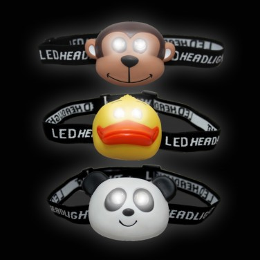 LED Animal Head Torch