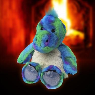 Cozy Plush Sparkly Dinosaur