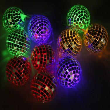 Mirror Ball Stringlights