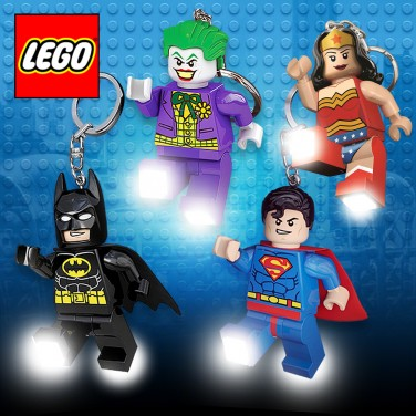 DC Lego Super Hero Keyring Lights