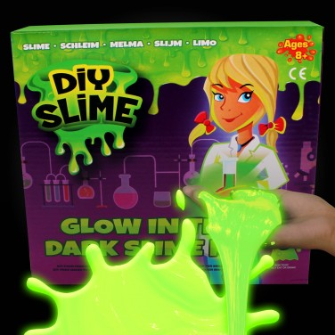 Make Your Own Slime Glow in the Dark