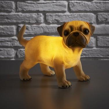 Retro Pug Light