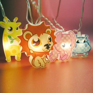 Safari Animal String Lights