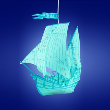 Peter Pan Ship Lamp Shade