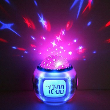 Star Projector Alarm Clock