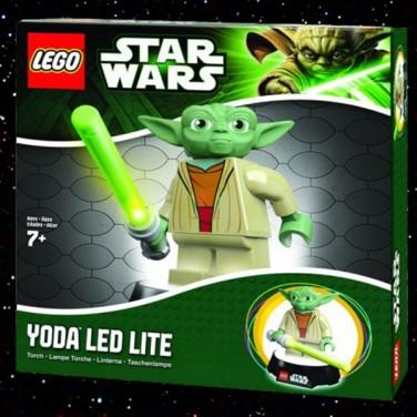 Lego Yoda Battery Operated Led Desk Lamp Night Light
