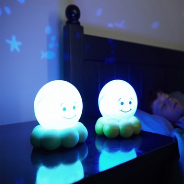 Children S Twinkle Octo To Go Portable Night Light
