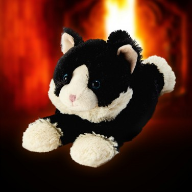 Warmies Plush Black Cat
