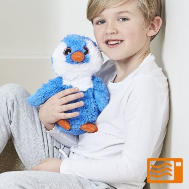 Warmies Plush Blue Penguin