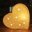 3D Ceramic Lamp Heart