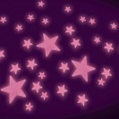 Pink Glow Stars
