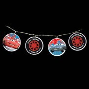 Cars 2 Battery Operated String Lights