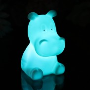 Colour Changing Hippo Light
