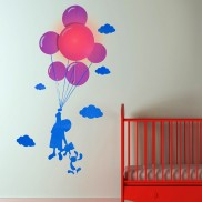 Child & Balloon Nightlight with Sticker