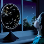 Earth And Constellation Globe