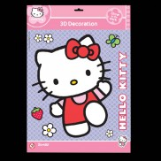 Glow 3d Hello Kitty