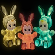 Goodnight Light Bunny Baby Lamp