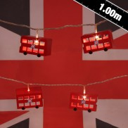 Battery Operated London Bus String Lights