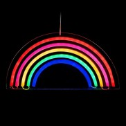 Neon Lights Hanging LED Rainbow
