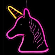 Neon Lights Hanging LED Unicorn