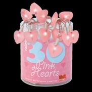 Pink Heart Fairy Lights