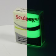 Sculpey Oven Bake Glow in the Dark Clay (Single)