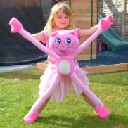 Stretchkins Pink Cat