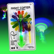 Twirling Night Copter